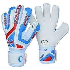 Renegade GK Talon Mirage Flat Cut Level 2 Best Goalie Gloves with Finger Protection - Youth Soccer Gloves for Kids - Girls & Boys Goalie Gloves - Size 5 Goalie Gloves for Kids Ages 9 & 10
