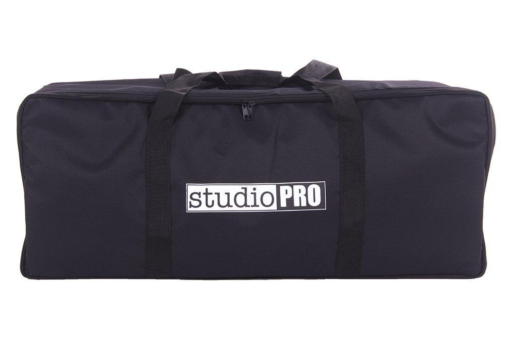 Fovitec - 1x Photography Studio Lighting Equipment Bag - [30'' x 12'' x10''][Lightweight][Heavy Duty Durable Nylon][Dual Zippers]