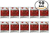 WHOLESALE 10 Bags Number One The Original Thai Iced Tea Mix 4,000 Gram - Number One Brand Imported From Thailand - Great for Restaurants That Want to Serve Authentic and Thai Iced Teas, 400g Bag