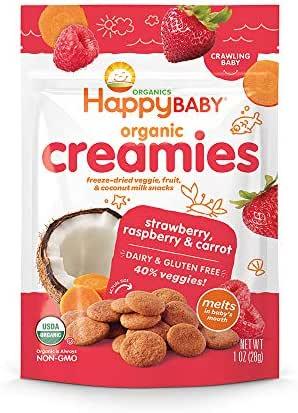 Baby & Toddler Snacks: Happy Baby Creamies