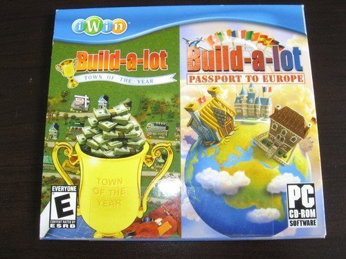 Build-a-lot 2: Town of the Year & Build-a-lot 3: Passport to Europe from iWin