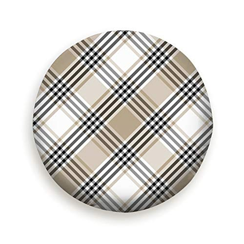 - Lichenran Checkered Clothing Universal Spare Tire Type Cover Wheel Covers 17inch