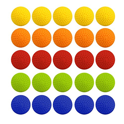 Little Valentine 5 Colors Mixed 100-Round Refill Pack for Nerf Rival by Little Valentine