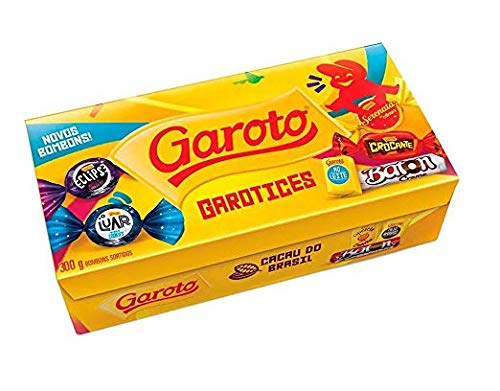 GAROTO Assorted Bonbons 300grs./10.5 oz. (Garoto Candy)