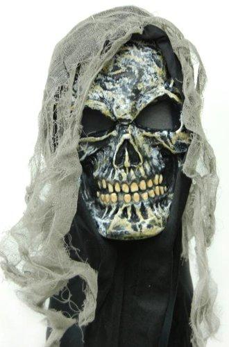 Halloween FX Gauze Skull Mask