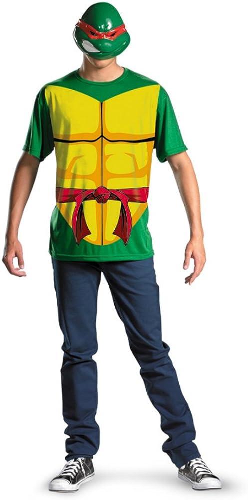 ff4c2d0a Disguise Mens Alternative Raphael Teenage Mutant Ninja Turtles Dress Costume,  Plus (50-52