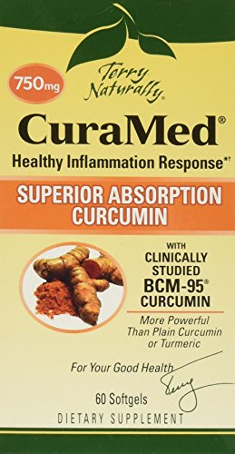 Terry Naturally CuraMed More Powerful Than Turmeric 750 mg 60 Softgels