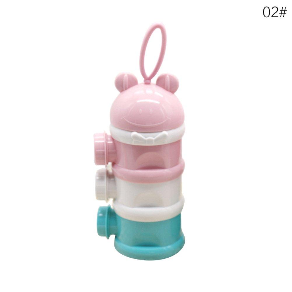 1PCS utile contenitore per latte biberon neonato bambino neonato bambini artificiale latte in polvere tre griglia snack Candy box aaerp