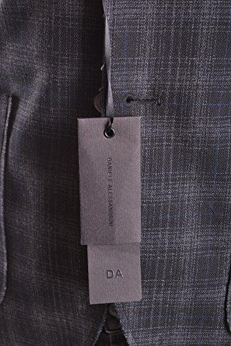 En Mcbi086095o Alessandrini Noir Daniele Blazer Homme Polyester RqExwSX