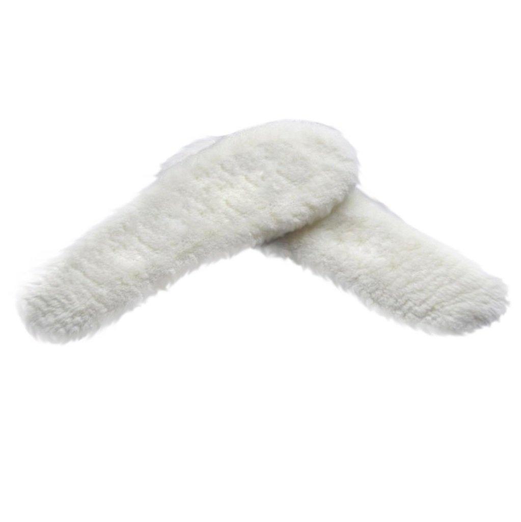 HappyStep® Shearling Sheepskin Winter Insoles, Material: Sheepskin - Wool - Fleece, Size 9, Women by Happystep (Image #2)