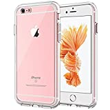 JETech Case for Apple iPhone 6s and iPhone 6, Shock-Absorption Bumper Cover (HD Clear)