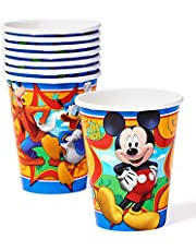 American Greetings Mickey Mouse 9oz Paper Cups, 8-Count