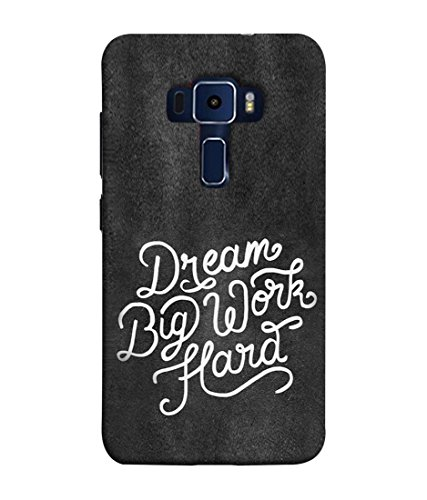 PrintVisa Designer Premium Back Cover for Asus Zenfone 3 Laser ZC551KL  5.5 Inches   Message Quote Proverbs wordings Helpful