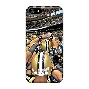 High Grade Ottercase Flexible Tpu Case For Iphone 5/5s - New Orleans Saints