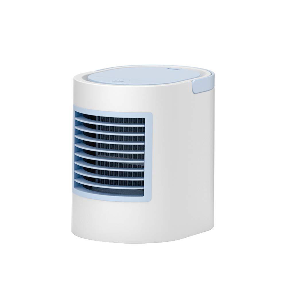 JIANword Small Air Conditioning Refrigeration Mini Portable USB Small Fan Air Cooler Dormitory Small Refrigerator Fan,C