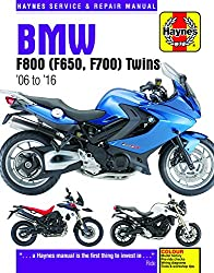 Image of the product BMW F650 F700 & F800 that is listed on the catalogue brand of Haynes.