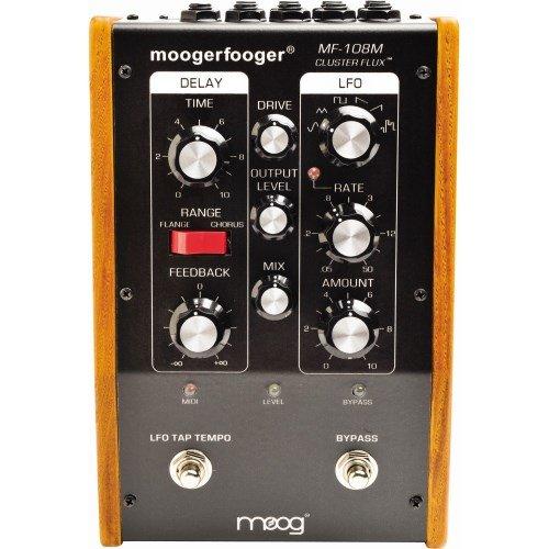 Moog Moogerfooger MF-108M Cluster Flux (Guitar Vintage Effect Pedal Compressor)
