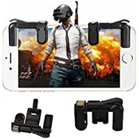 MOBONE PUBG Mobile Game Controller, Gaming Trigger Fire Button Aim Key, Battle Royale L1R1 Sensitive Shoot and Aim Gift for Adult Kids