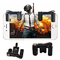 PINACA - Gaming Trigger Mobile Game Controller | Shooter Trigger Fire Button for PUBG (Black)