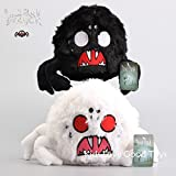 Shalleen 2X Don't Starve White & Black Shadow Spider Plush Toy Soft Stuffed Doll 9'' NWT