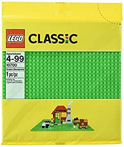 LEGO Classic Green Baseplate Supplement - Pack of 6