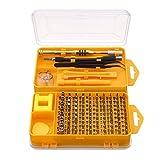 Screwdriver Tool Set, M.Way 108 in 1 Precision Screwdriver Set Multi-function Computer Repair Tools Kit Cellphone Repair Tool Kit