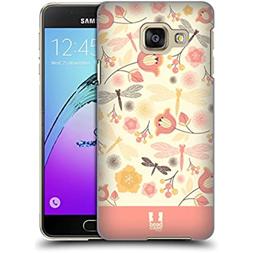 Head Case Designs Lemon Chiffon Dragonflies Hard Back Case for Samsung Galaxy S7 edge Sales