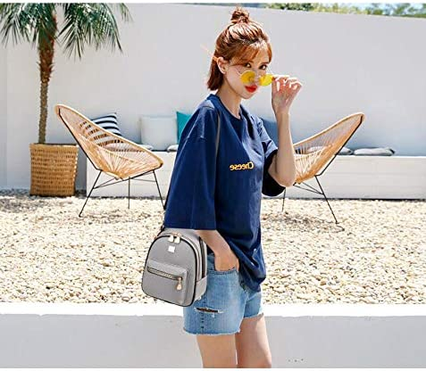 Travel Simple and Cute Four Colors School Latest Models Fashion and Leisure Work Outdoor Huijunwenti The Girls Versatile Backpack is Perfect for Everyday Travel