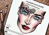 Bridal Makeup Artist The Face Charts For Makeup Artists Note bridal Makeup Book 3