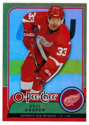 Kris Draper (Hockey Card) 2008-09 O-Pee-Chee # 181 Gold - Kris Draper Hockey