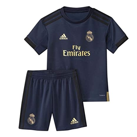 adidas 2019 2020 Real Madrid Away Mini Kit: Amazon.it: Sport
