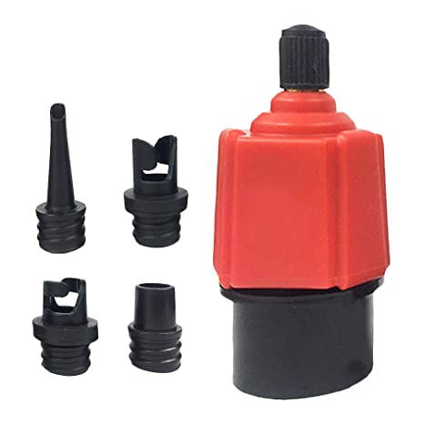 SUP Pump Adaptor Air Valve Surf Paddle Board Dinghy Canoe Inflatable Boat Tools