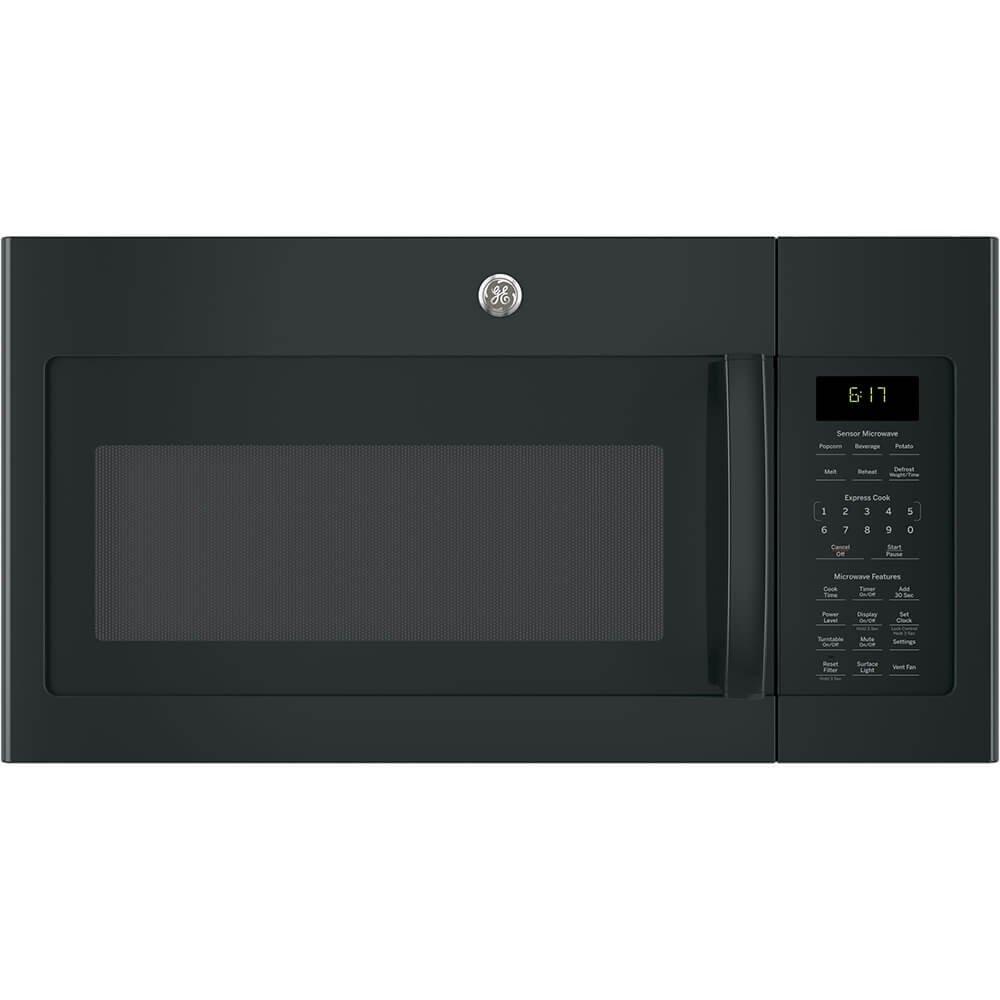 GE 1.7 Cu. Ft. Black Over-The-Range Microwave Oven
