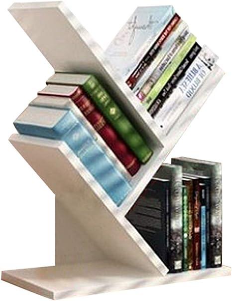Estantería Estantería de almacenamiento simple Escritorio de escritorio, Estantería de escritorio de diseño de rama Organizador de almacenamiento de ...