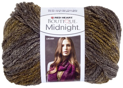 - Red Heart  Boutique Midnight Yarn, Whisper