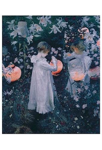 John Singer Sargent - Carnation, Lily, Lily, Rose ()