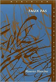 Book Faux Pas (Meridian: Crossing Aesthetics)