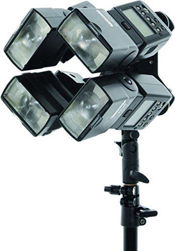 Lastolite LL LS2535 Speed Light Quad Bracket (Multi Color) by Lastolite