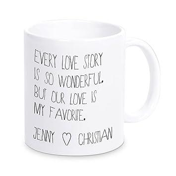 I love JENNY Tasse Kaffeetasse