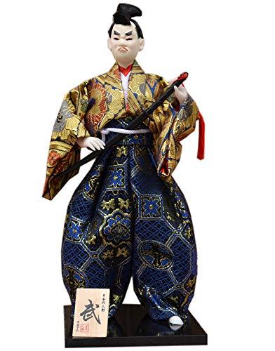 Blancho Bedding Japanese Samurai Figurine Arts Crafts Humanoid Doll Home Office Decor Gift # 2 2 Piece Japanese Doll