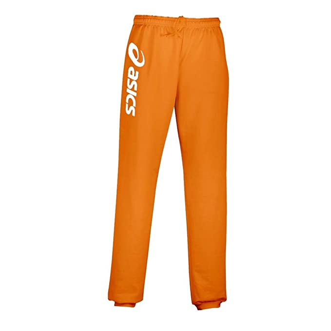 Asics Sigma - Pantalón de Deporte, Hombre, Naranja y Blanco ...