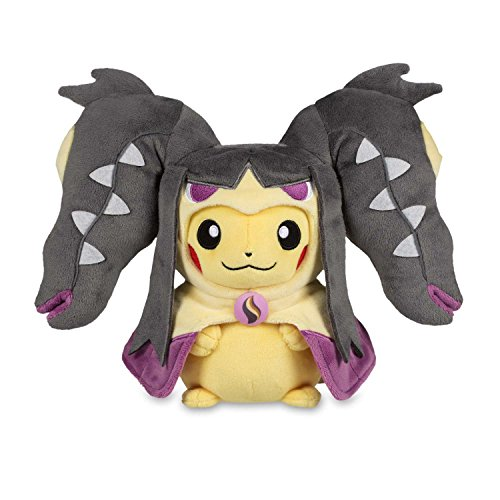 Pikachu Hoodie With Ears (Pikachu with Mega Mawile Hoodie Poké Plush (Standard) - SIZE TBD