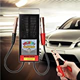 Dreamyth 6/12V 100 Amp Battery Load Tester Alligator Clip Heavy Duty Car Truck Checker Durable