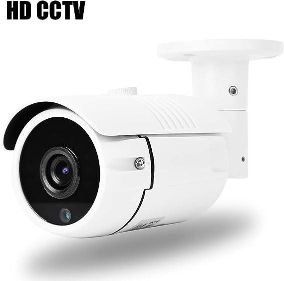 Überwachungskamera AHD Kamera 2MP CCTV Bullet Sicherheit Metall FullHD Schwarz