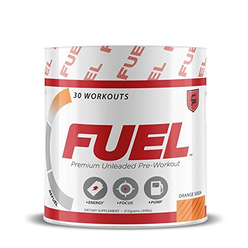 FUEL Pre Workout (Orange Soda) (Pump Creatine Fuel)
