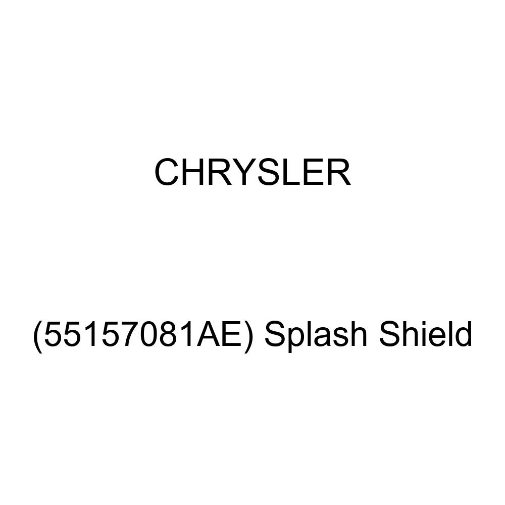 Chrysler Genuine Splash Shield 55157081AE
