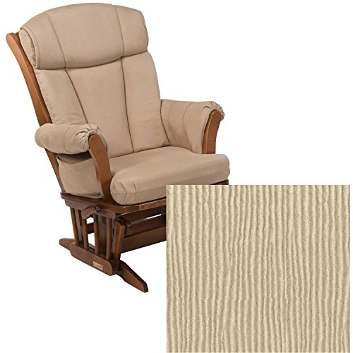 Dutailier 908 Series Maple Multiposition Reclining Glider W/Lock in Harvest With Cushion 3018 -  DU908-120-18-3018