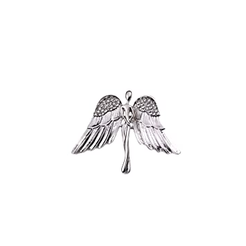 Amazon.com: Yinghuawen - Broche para hombre con alas de ...