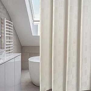 Cortina de ducha Baño Europeo del estilo, tabique del cuarto de baño, cortina de ducha, impermeable, prueba del moho que espesa la cortina del baño ( Color : A , Tamaño : 120*200cm )