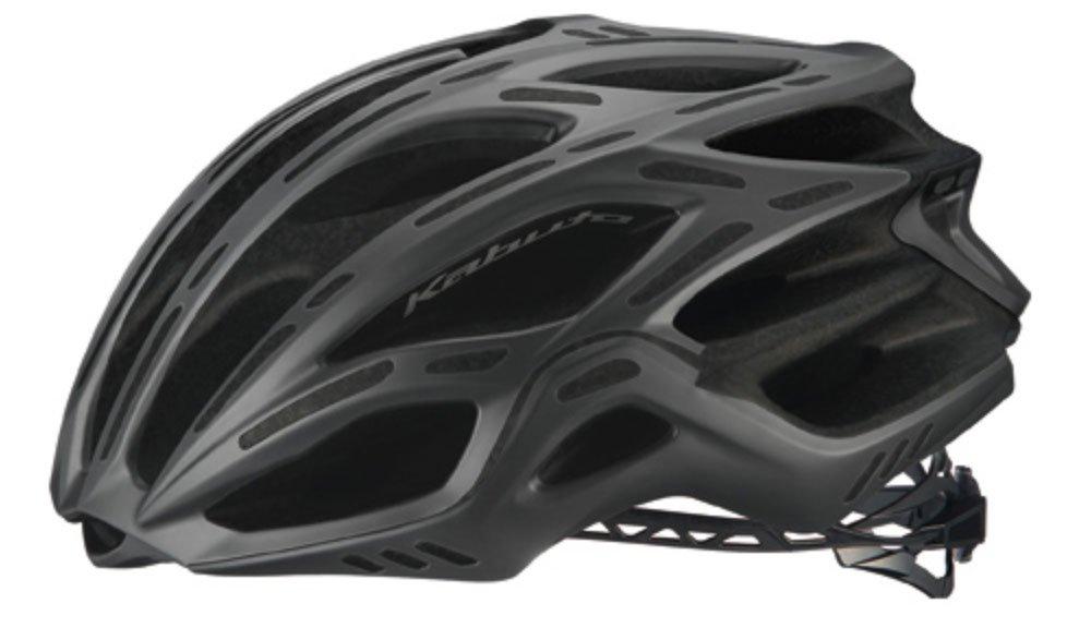 OGK(オージーケー) FLAIR(フレアー) ヘルメット マットブラック S/M  B079THTSD5